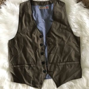 Mens Trendy Vest by Sovereign Code